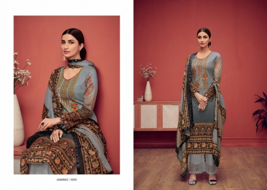 HOUSE OF LAWN PRESENTS UMARAO JAM SATIN FABRIC DRESS MATERIAL AT WHOLESALE BEST RATE BY GOSIYA EXPORTS SURAT (6)