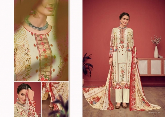 HOUSE OF LAWN PRESENTS UMARAO JAM SATIN FABRIC DRESS MATERIAL AT WHOLESALE BEST RATE BY GOSIYA EXPORTS SURAT (8)