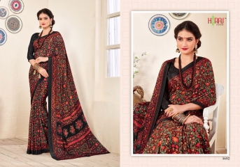 HRAJ FASHION BY CRAPE PRINTS CASUAL WEAR SAREES COLLECTION WHOLESALE ONLINE BEST RATE BY GOSIYA EXPORT SURAT (2)