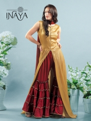 INAYA BY STUDIO LIBAS GHARARA PANTS PURE COTTON REYON COLLECTION WHOLESALE SELLER BEST RATE BY GOSIYA EXPORTS SURAT (4)