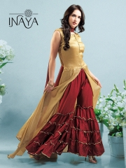 INAYA BY STUDIO LIBAS GHARARA PANTS PURE COTTON REYON COLLECTION WHOLESALE SELLER BEST RATE BY GOSIYA EXPORTS SURAT (6)