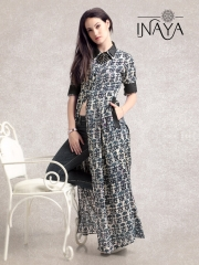 INAYA BY STUDIO LIBAS MAXI SHIRT K-16 COTTON PRINTS COLLECTION WHOLESALE DEALER BEST RATE BY GOSIYA EXPORTS SURAT (4)