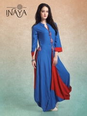 INAYA BY STUDIO LIBAS STYLIST COWL K-13 GOWN STYLE COLLECTION WHOLESALER BEST RATE BY GOSIYA EXPORTS SURAT (1)