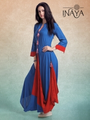 INAYA BY STUDIO LIBAS STYLIST COWL K-13 GOWN STYLE COLLECTION WHOLESALER BEST RATE BY GOSIYA EXPORTS SURAT (3)