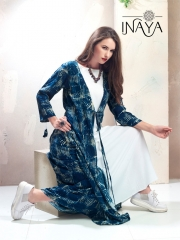 INAYA FESTIVE SPECIAL DESIGNER KURTIS 2 PIECES WHOLESALE BEST RATE BY GOSIYA EXPORTS (3)