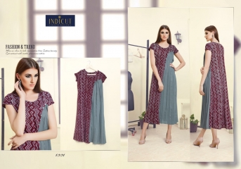 INDICUT ALLURE RAYON LONG KURTI WHOLESALE ONLINE DEALER BY GOSIYA EXPORTS SURAT (1)