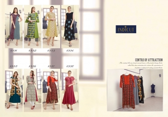 INDICUT ALLURE RAYON LONG KURTI WHOLESALE ONLINE DEALER BY GOSIYA EXPORTS SURAT (11)