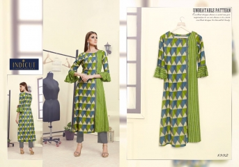 INDICUT ALLURE RAYON LONG KURTI WHOLESALE ONLINE DEALER BY GOSIYA EXPORTS SURAT (2)