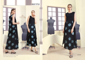 INDICUT ALLURE RAYON LONG KURTI WHOLESALE ONLINE DEALER BY GOSIYA EXPORTS SURAT (4)