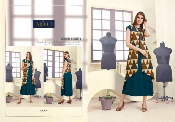INDICUT ALLURE RAYON LONG KURTI WHOLESALE ONLINE DEALER BY GOSIYA EXPORTS SURAT (5)
