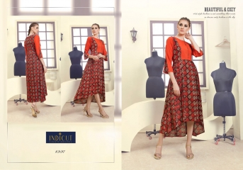 INDICUT ALLURE RAYON LONG KURTI WHOLESALE ONLINE DEALER BY GOSIYA EXPORTS SURAT (8)