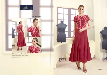 INDICUT ALLURE RAYON LONG KURTI WHOLESALE ONLINE DEALER BY GOSIYA EXPORTS SURAT (9)