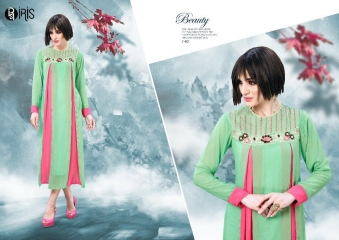 IRIS GEORGETTE WITH EMBROIDERY KURTI WHOLESALE SURAT BY GOSIYA EXPORTS SURAT (6)