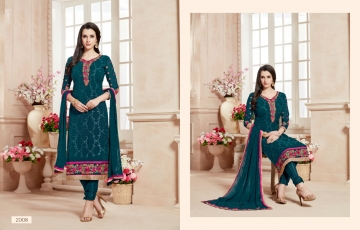 Ishu Trendz Mihira Vol-A salwar kameez collection WHOLESALE RATE BY GOSIYA EXPORTS SURAT INDIA (2)