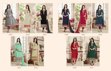 Ishu Trendz Mihira Vol-A salwar kameez collection WHOLESALE RATE BY GOSIYA EXPORTS SURAT INDIA (5)