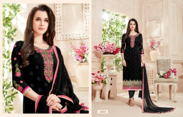 Ishu Trendz Mihira Vol-A salwar kameez collection WHOLESALE RATE BY GOSIYA EXPORTS SURAT INDIA (7)