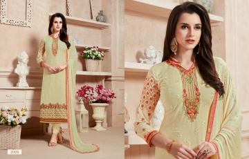 Ishu Trendz Mihira Vol-A salwar kameez collection WHOLESALE RATE BY GOSIYA EXPORTS SURAT INDIA (9)