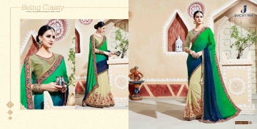 JAICHITRA KANIKA CATALOG GEORGETTE EMBROIDERED SAREES COLLECTION EXPORTS SURAT (3)