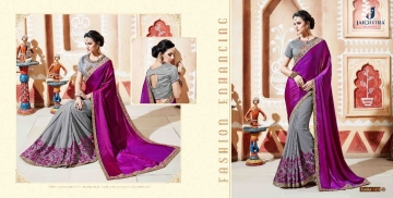 JAICHITRA KANIKA CATALOG GEORGETTE EMBROIDERED SAREES COLLECTION EXPORTS SURAT (4)