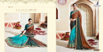 JAICHITRA KANIKA CATALOG GEORGETTE EMBROIDERED SAREES COLLECTION EXPORTS SURAT (7)