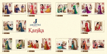 JAICHITRA KANIKA CATALOG GEORGETTE EMBROIDERED SAREES COLLECTION EXPORTS SURAT (8)