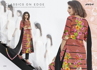 JAY VIJAY STYLE MOTION COTTON SATIN SUITS WHOLESALE BEST6 RATE BY GOSIYA EXPORTS SURAT (5)