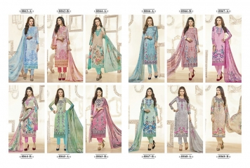 JINAAM DRESS MASKA SATIN CATALOGUE DIGITAL PRINT STRAIGHT (13)