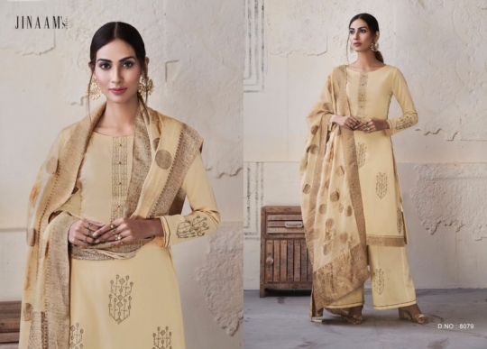 JINAAM DRESS OMISHA COTTON LAWN EMBROIDERY SUITS CATALOGUE WHOLESALE DEALER BEST RATE BY GOSIYA EXPORTS SURAT (1)