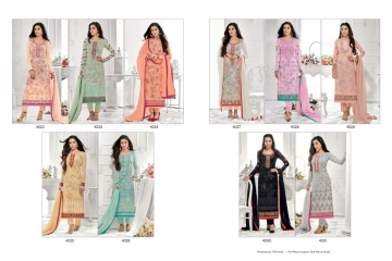JINAAM DRESS PVT LTD RAZAH NOORIE GEORGETTE WHOLESALE SUITS BY GOSIYA EXPORTS SURAT (11)