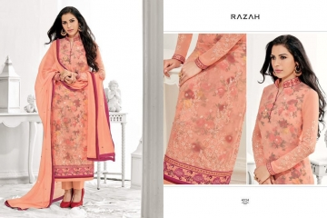 JINAAM DRESS PVT LTD RAZAH NOORIE GEORGETTE WHOLESALE SUITS BY GOSIYA EXPORTS SURAT (3)