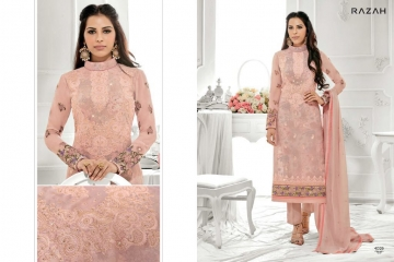 JINAAM DRESS PVT LTD RAZAH NOORIE GEORGETTE WHOLESALE SUITS BY GOSIYA EXPORTS SURAT (8)