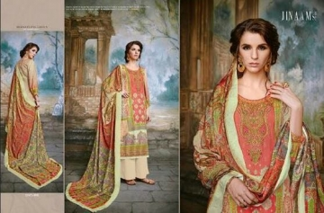 JINAAM DRESS SABIA PASHMINA PRINTS WITH KASHMIRI WORK WINTER COLLECTION E (3)