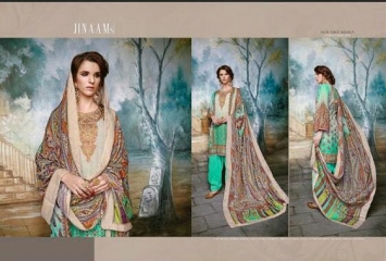 JINAAM DRESS SABIA PASHMINA PRINTS WITH KASHMIRI WORK WINTER COLLECTION E (4)