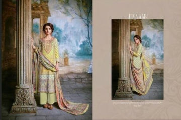 JINAAM DRESS SABIA PASHMINA PRINTS WITH KASHMIRI WORK WINTER COLLECTION E (8)