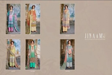 JINAAM DRESS SABIA PASHMINA PRINTS WITH KASHMIRI WORK WINTER COLLECTION E (9)
