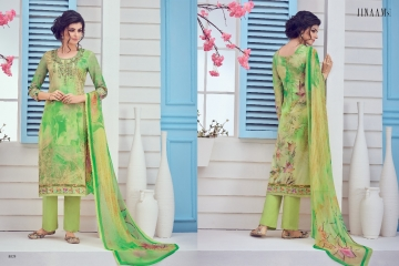 JINAAM LATEST CATALOG MILAN LAWN SALWAR SUIT AT BEST RATE BY GOSIYA EXPORTS (10)