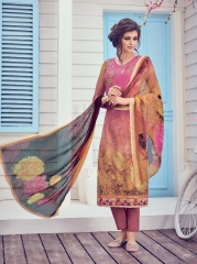 JINAAM LATEST CATALOG MILAN LAWN SALWAR SUIT AT BEST RATE BY GOSIYA EXPORTS