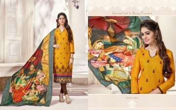 JINESH NX BY AARUSHI VOL 1 COTTON TOP WITH DIGITAL PRINTS DUPATTA COLLECTION WHOLESALE (5)