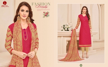 JINESH NX BY ARMANI CATALOG BOMBAY COTTON JEQAURD WORK SUITS WHOLESALER SUPPLIER BEST RATE BY GOSIYA EXPORTS SURAT (1)