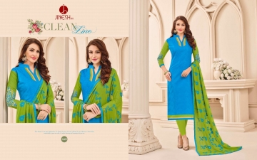 JINESH NX BY ARMANI CATALOG BOMBAY COTTON JEQAURD WORK SUITS WHOLESALER SUPPLIER BEST RATE BY GOSIYA EXPORTS SURAT (2)
