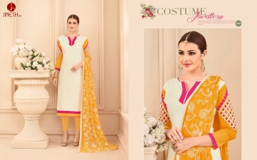 JINESH NX BY ARMANI CATALOG BOMBAY COTTON JEQAURD WORK SUITS WHOLESALER SUPPLIER BEST RATE BY GOSIYA EXPORTS SURAT (3)