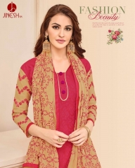 JINESH NX BY ARMANI CATALOG BOMBAY COTTON JEQAURD WORK SUITS WHOLESALER SUPPLIER BEST RATE BY GOSIYA EXPORTS SURAT