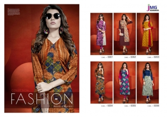 JMG FASHIONISTA BY BLOSSOM CATALOG RAYON PRINTS KURTIS WHOLESALE COLLECTION BEST RATE BY GOSIYA EXPORTS SURAT (7)