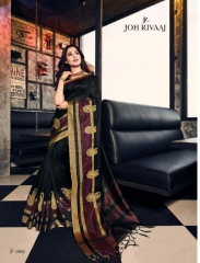 JOH RIVAAJ SERIES 2101 TO 2109 DESIGNER SAREES CATALOG BEST ARET BY GOSIYA EXPORTS SURAT
