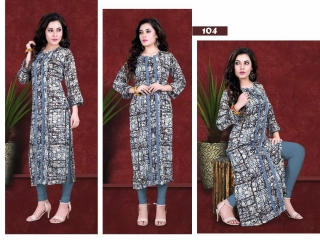 JUGNI EXCELLENCE VISCOSE RAYON KURT KURTI WITTH PRINT WHOLESALE RATE AT GOSIYA EXPORTS SURAT WHOLESALE DEALER AND SUPPLAYER SURAT GUJARAT (5)