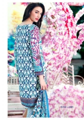 K VIDHAN LORENZA PURE COTTON PRINT EMBROIDERED SUITS WHOLESALER BEST RATE BY GOSIYA EXPORTS SURAT (