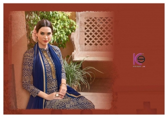 K9 FARHA CHANDERI SILK GHADWAL WITH HANDWORK SUITS CATALOG WHOLESALE BEST RATE (4)