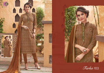 K9 FARHA CHANDERI SILK GHADWAL WITH HANDWORK SUITS CATALOG WHOLESALE BEST RATE (6)