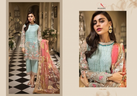 KAARA SUITS ANAYA VOL 1 PAKISTANI GEORGETTE EMBROIDERED SUITS WHOLESALE DEALER BEST RATE BY GOSIYA EXPORT SURAT (4)