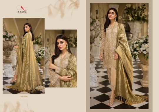 KAARA SUITS ANAYA VOL 1 PAKISTANI GEORGETTE EMBROIDERED SUITS WHOLESALE DEALER BEST RATE BY GOSIYA EXPORT SURAT (8)